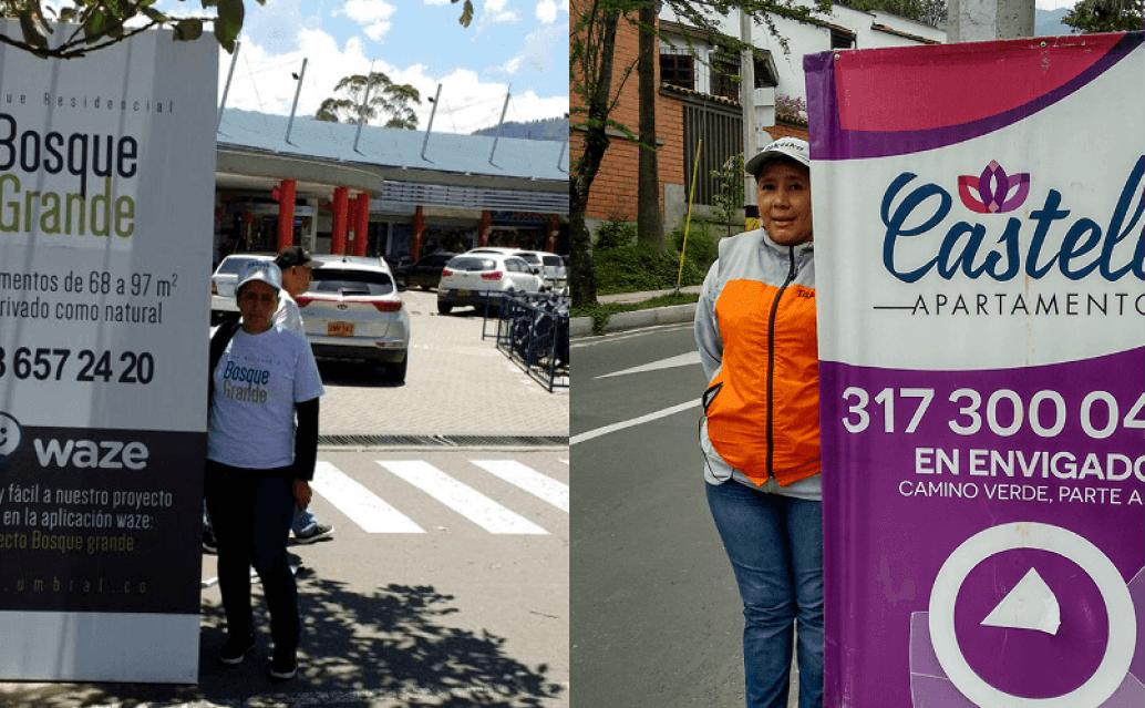 Servicio de pendones en Colombia