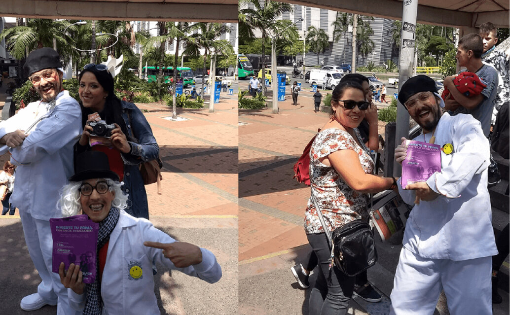 Activaciones BTL en Colombia